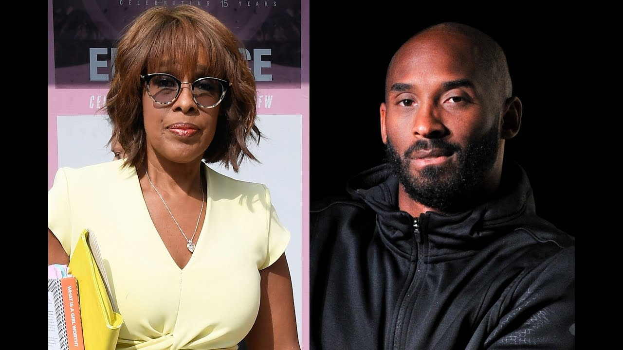 GAYLE KING IS BUTT HURT TODAY OVER KOBE BRYANT
