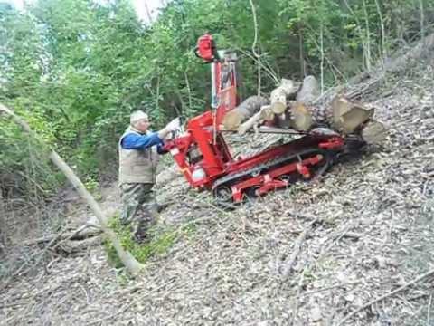 motocarriola cingolata forestale gior 800 kg kawasaki