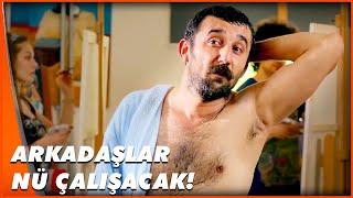 Sanat İçin Soyundu  Guruldayan Kalpler Türk Komedi Filmi