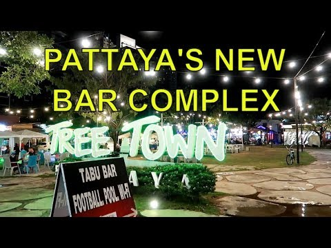 Tree Town Soi Baukhao Pattaya, Soi Made in Thailand ! Vlog 327