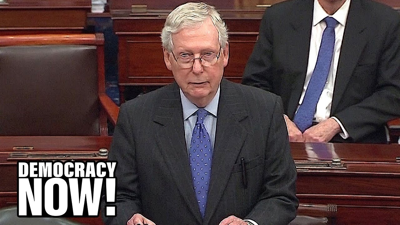 As Workers Get Sick & Die from COVID-19, McConnell Demands Corporate Immunity in New Stimulus Bi