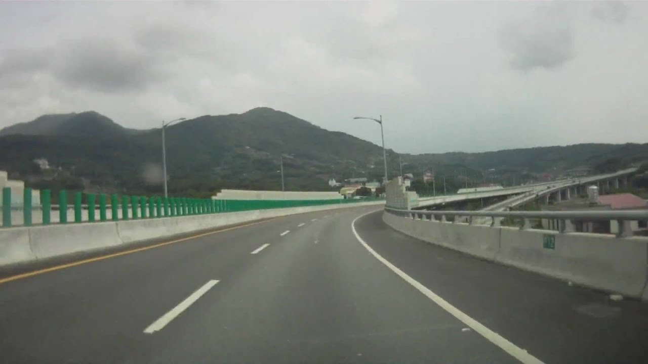 Time-lapse - 臺64線快速道路東向/Express Way 64, East Bound - 新店/Hsindian - 八里/Bali - YouTube