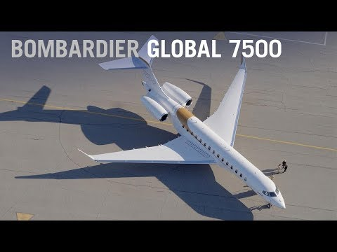 Bombardier's New Global 7000 Business Jet Debuts at NBAA 2017 – AINtv