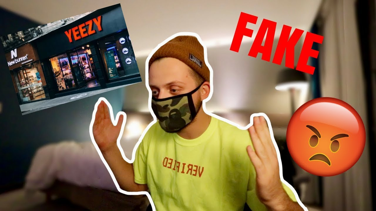 Fake Yeezy Store In China  (My Reaction) - YouTube f309924e8