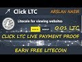 Click LTC New Free Litecoin Earning Site Live Withdrawal Payment Proof 2018 in Urdu Hindi