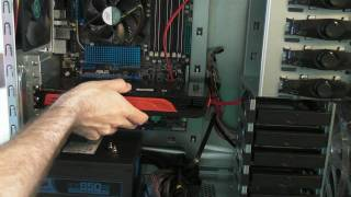 pc build series video 7 installing asus hd 5870 ati radeon graphics card eah5870