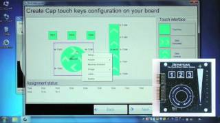 Integrated Development Environment for Renesas Capacitive Touch Workbench6(ver1.03) ①
