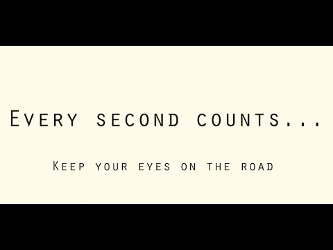 """TeenDrive365 Video Challenge: Every Second Counts"""