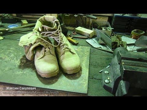 видео: Что внутри Башмаков (НАТО) от mil-tec
