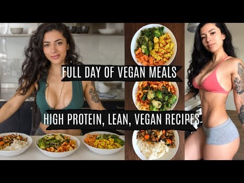 FULL DAY OF EATING VEGAN with EASY RECIPES! What I eat to stay lean!