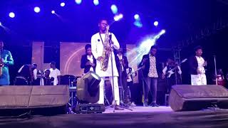 OLORUN MI, OLORUN MI by Benita, ministered by The Sax Angel @ JUST WORSHIP 2019