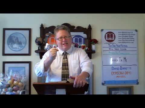 Messages - 1 Yr. Revival - Lesson 45 - Prayer & Thanksgiving - Be in Prayer