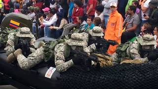 Desfile 20 de julio 2017 . Bogotá 🇨🇴 parte 2