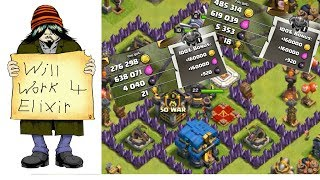 I NEED ELIXIR!!! TOWN HALL 12 RUSH RECOVERY - EPISODE 14!!! CLASH OF CLANS