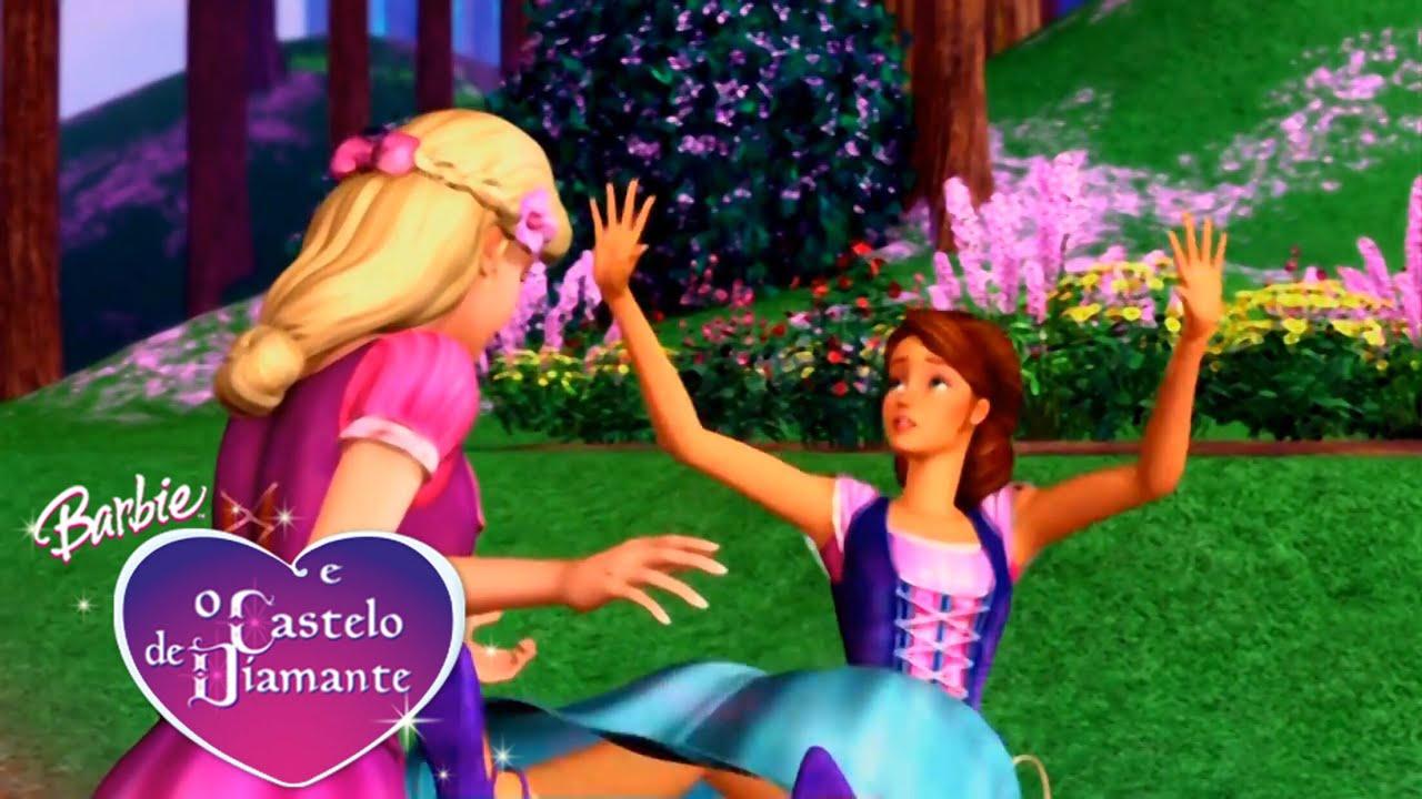 Barbie E O Castelo De Diamante Erros De Gravacao Youtube