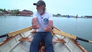 Building the TotalBoat Sport Dory: Episode 27 - Dory at the WoodenBoat Show Part 2