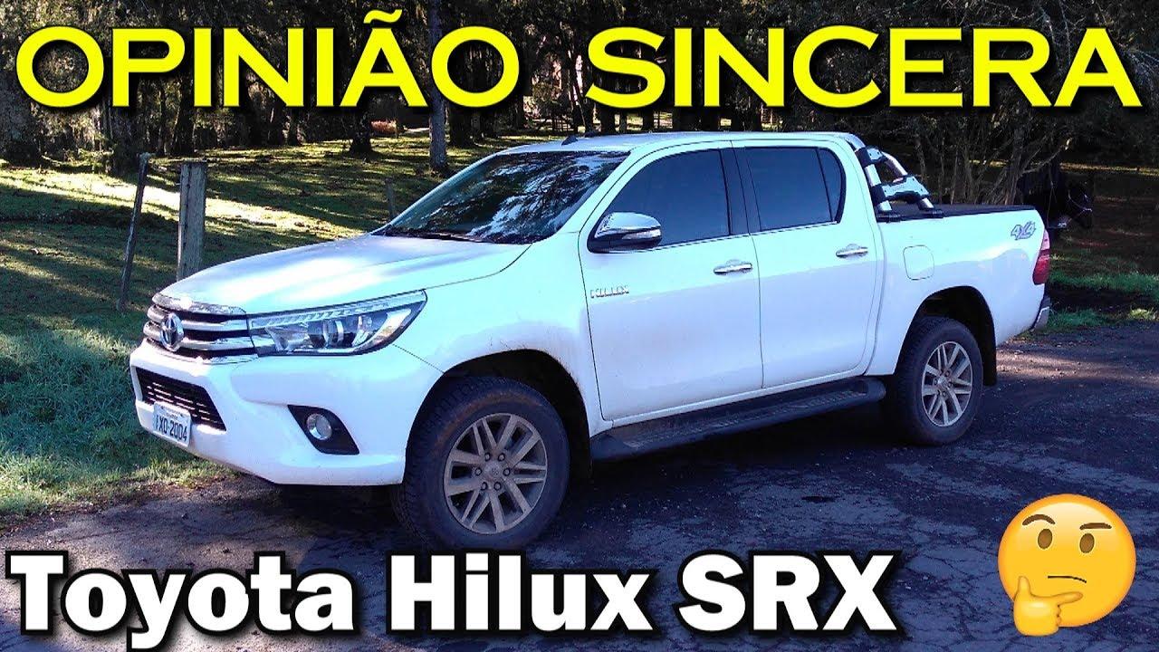 Toyota Hilux SRX 2017 - Por que ela vende tanto? - YouTube