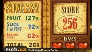 Fruit Ninja Puss in Boots для Android - mob.ua