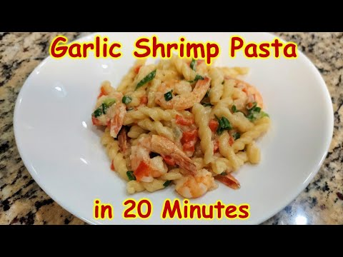 one-pot-🧄-garlic-🦐-shrimp-pasta-in-20-minutes