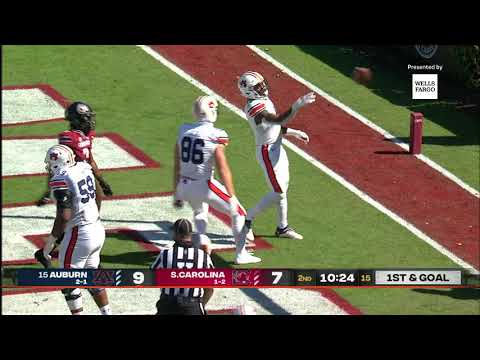 Auburn Football vs South Carolina Highlights