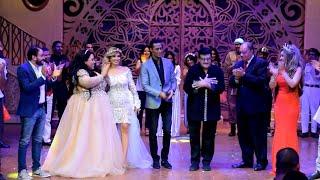بالفيديو| سمير غانم يرقص مع محمد رمضان على المسرح