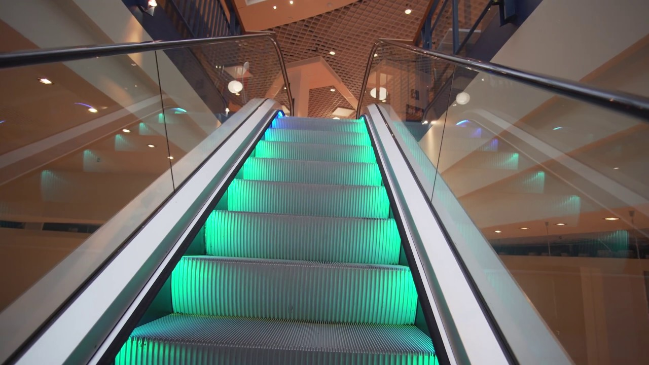 Sweden Stockholm Farsta Centrum 10x Escalator