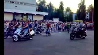 """РУБЕЖНОЕ One city """"БАЙК-001.mp4"""" 23 августа 2008 год"""