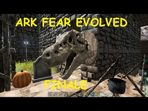 Ark Survival Evolved Ep 45 Fear Finale Dino Hat Wall Mounted Trophy You