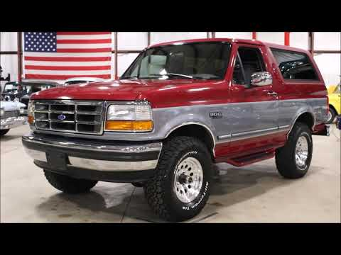 Ford Bronco Red gray