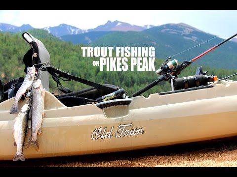 Pikes Peak Colorado Trout Fishing - Old Town Predator MX