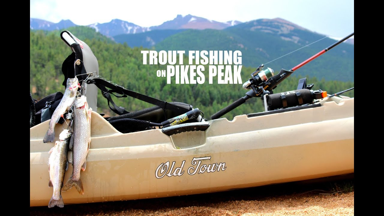 Pikes peak colorado trout fishing old town predator mx for Peak fishing times for today