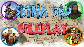 skyrim d roleplay the adventure begins live rp episode 1