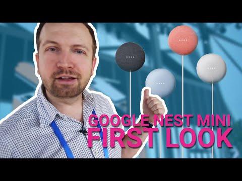 Google Nest Mini first look: the 2nd gen Google Home smart speaker