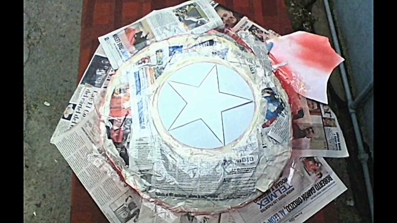 escudo capitan america casero by jonathan jonathan