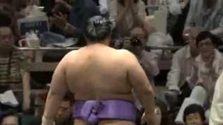 平成25年5月場所千秋楽 徳勝龍vs琴勇輝 sumo kotoyuki tokusyoryu.