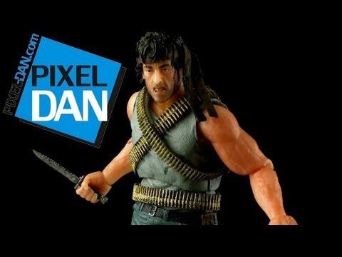 NECA First Blood John Rambo Figure Video Review thumbnail