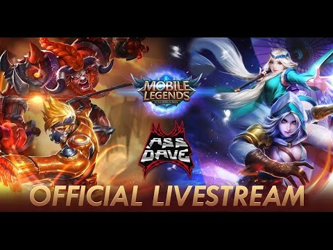 Ass_Dave Mobile Legends Glorious Legend Ranked Gameplay with Squad. Skin Giveaway on Twitch tonight!