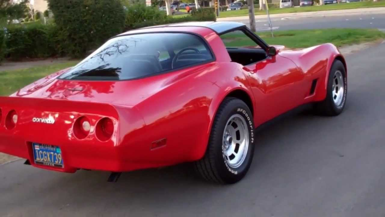 1980 Corvette For Sale >> SOLD C3 1981 Red Coupe for 4 sale by Corvette Mike - YouTube