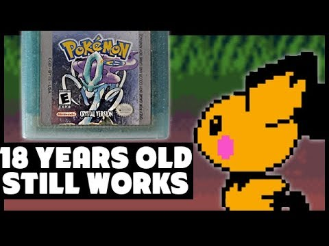 Exploring The Secrets Of My 18 YEAR OLD Pokemon Crystal Version - PokeTips