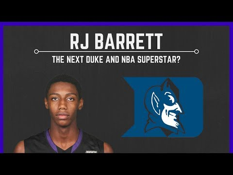 RJ BARRETT: Duke's Canadian Recruit and the NEXT NBA SUPERSTAR!