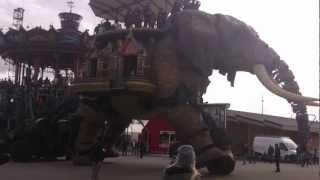 Les éléphants géants de Nantes
