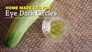 Home Made Gel For Eye Dark Circles | Nepali Beauty Tips