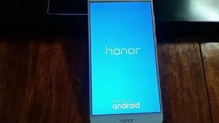 отвязка от Google, сброс аккаунта Honor 8 Huawei Обход