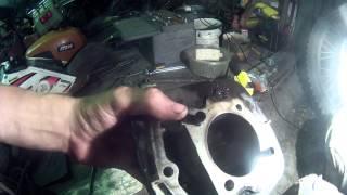 Замена поршневой на IRBIS TTR 250