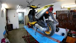 Китайский скутер 150 кубов,ремонт