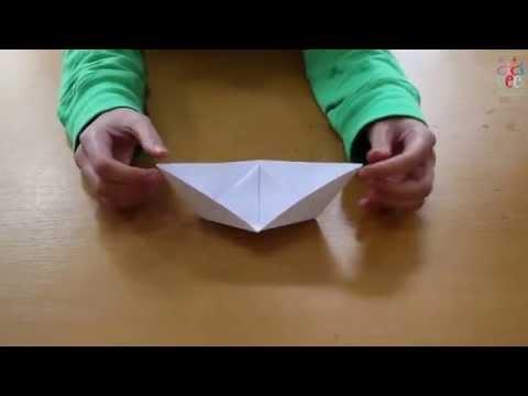 Kağıttan Gemi Nasıl Yapılır - Origami