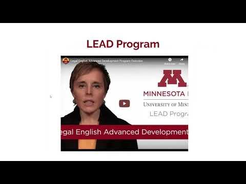Webinar - University Of Minnesota Law School