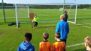 Blackburn Rovers FC Goalkeeper training with J4K