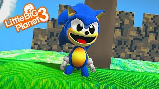 LittleBigPlanet 3 - Sonic Green Hill Zone ACT 1