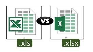 what is difference between xls and xlsx files of Excel??